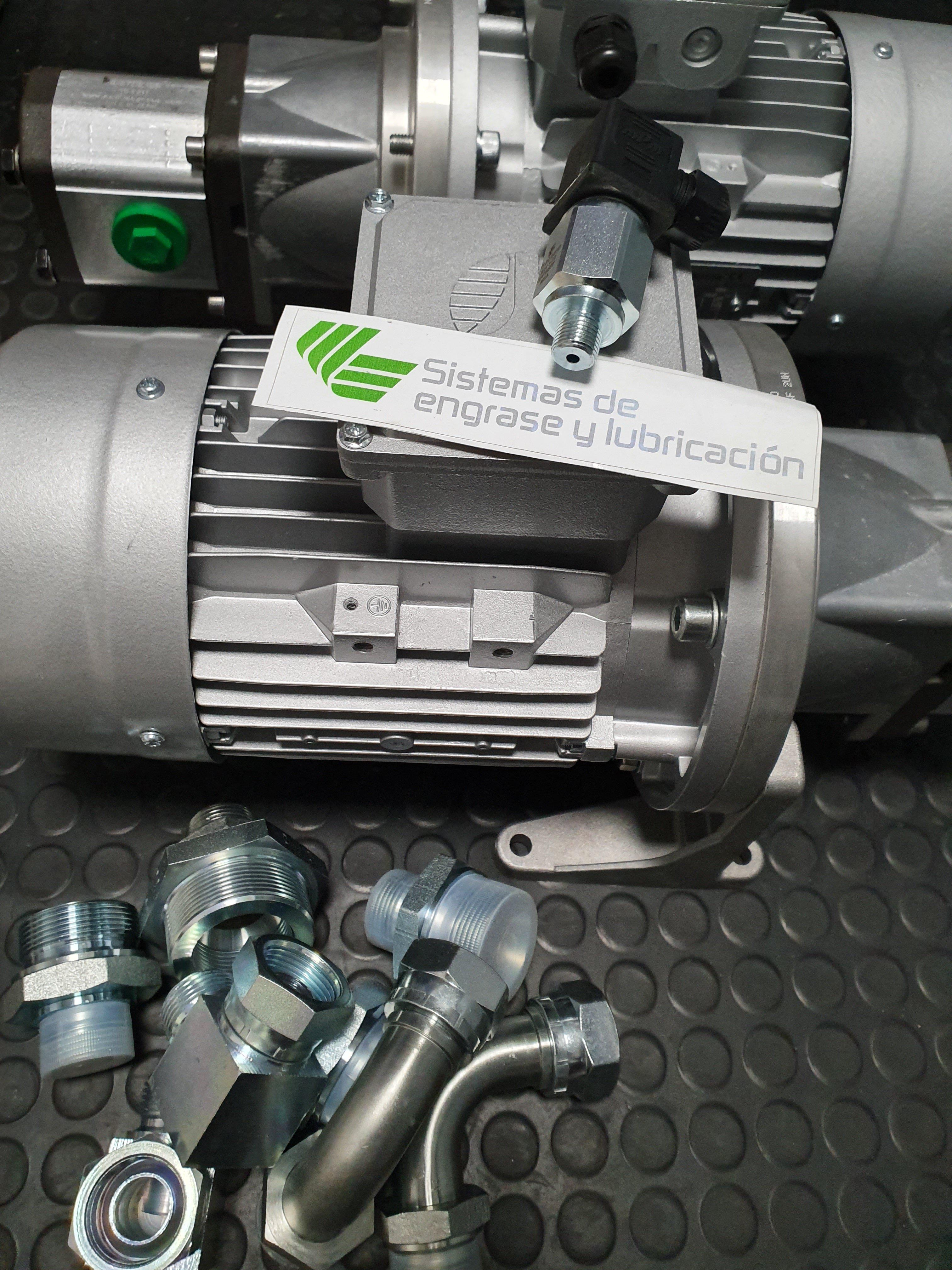 Engrase y sistemas de lubricación industrial